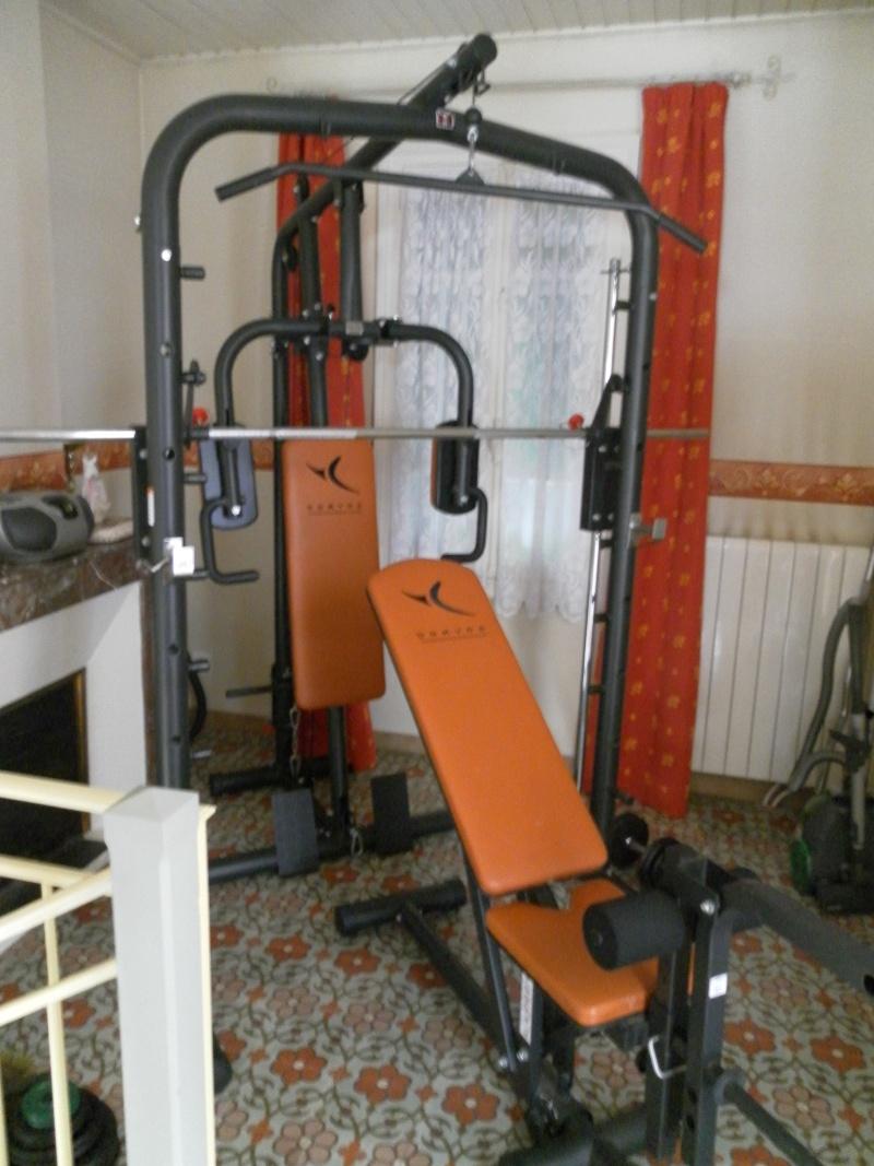 Banc de musculation bm 900 muscu maison - Banc de musculation basic ...