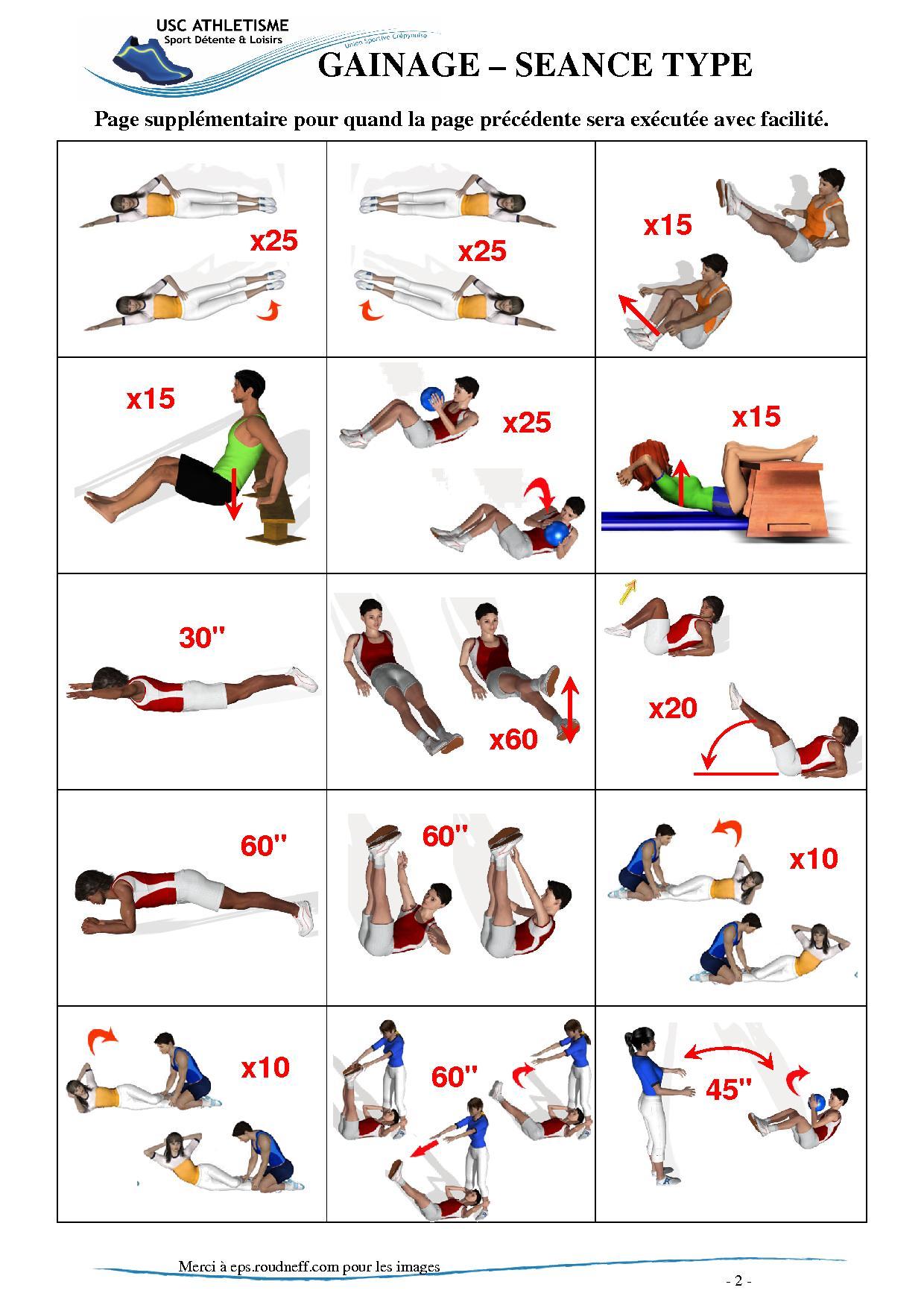 Exercice pour abdo - Muscu maison