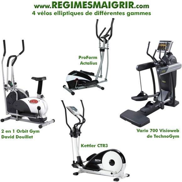 Sport elliptique muscu maison - Velo elliptique ou tapis de course pour maigrir ...