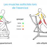Les bienfaits du velo elliptique sur le corps