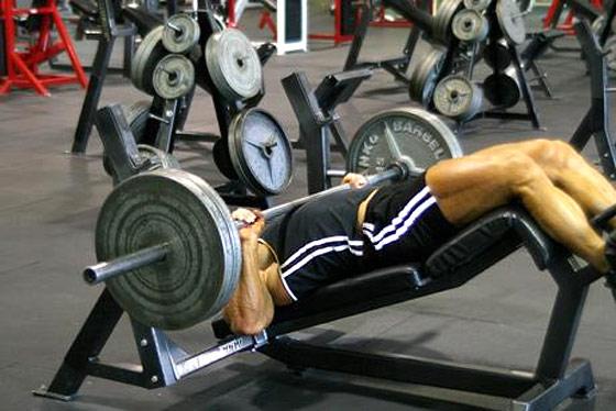 Comment travailler les pectoraux du bas muscu maison - Appareil musculation developpe couche ...