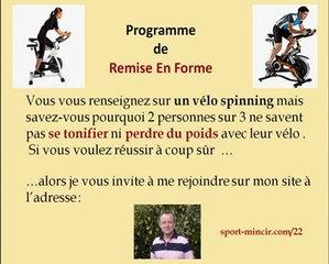 Velo spinning intersport muscu maison - Velo d appartement intersport ...