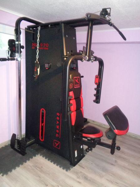 banc de musculation complet occasion muscu maison. Black Bedroom Furniture Sets. Home Design Ideas
