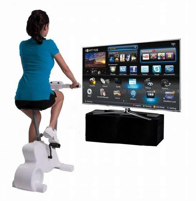 Velo appartement avec ecran tv muscu maison - Velo elliptique ou tapis de course pour maigrir ...