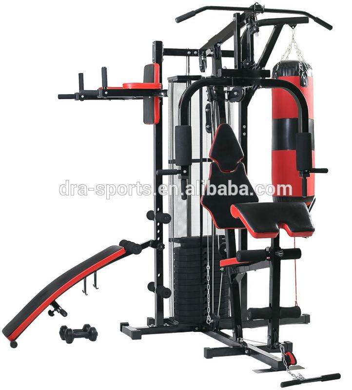 Poids banc de musculation muscu maison - Banc de musculation plus barre et poids ...
